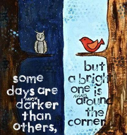 darker than